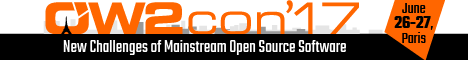 OW2con′17 Annual conference : New Challenges of Mainstream Open Source Software